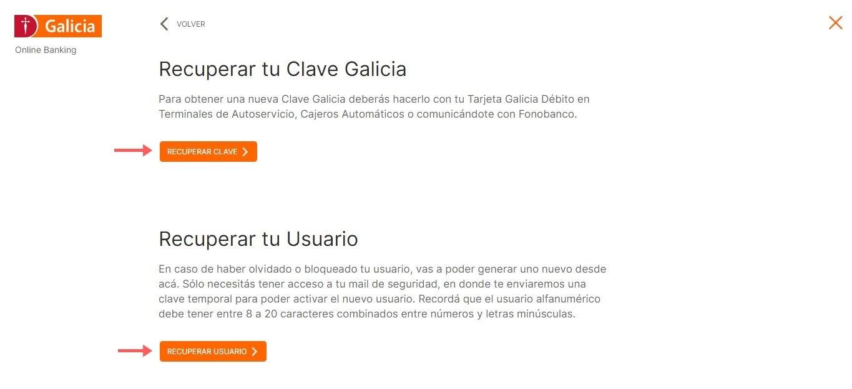 Como Crear Home Banking Galicia