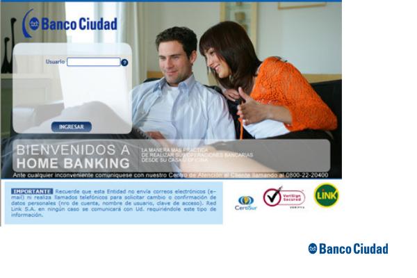 Home Banking Ciudad
