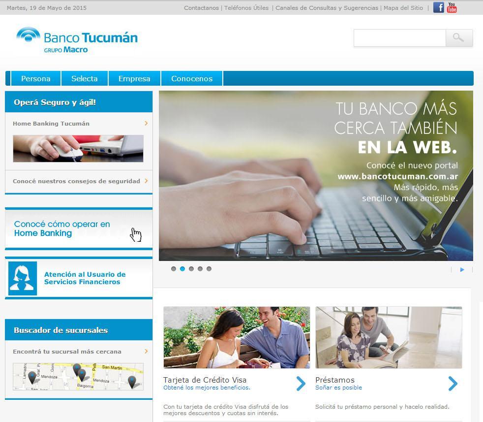home banking tucuman